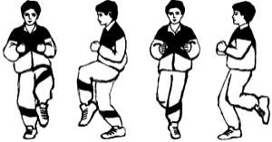 Упражнение «Шаги»