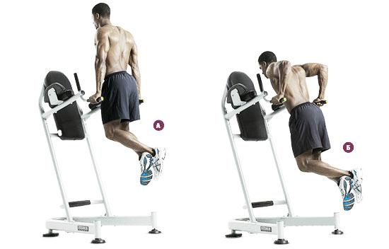 Упражнение, прорабатывающее мышцы нижнего отдела груди
