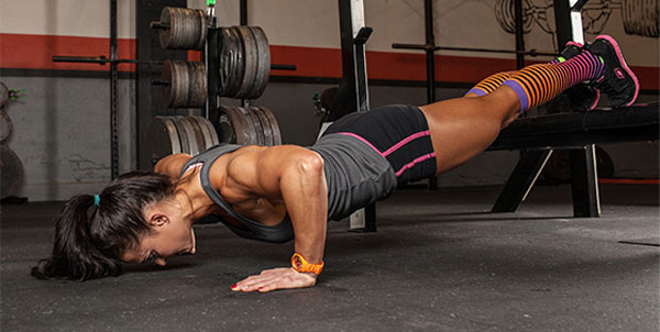 Упражнение, прокачивающее верхние грудные мышцы
