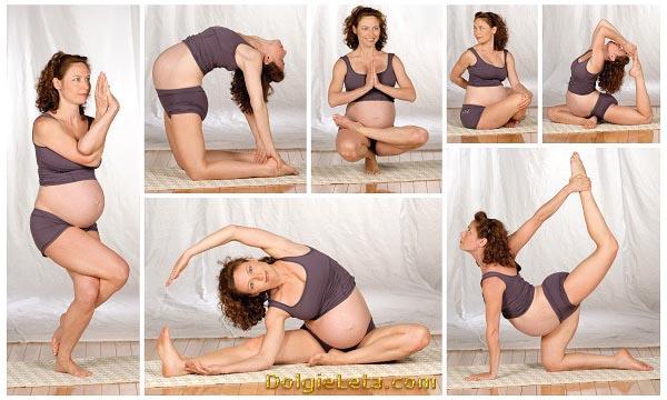 Польза стретчинга для беременных