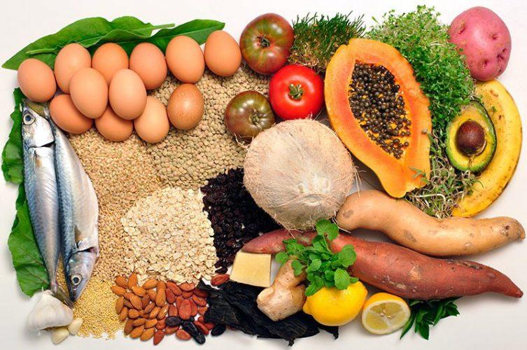 Сводная таблица продуктов, помогающих росту мышц